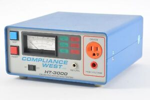 Compliance West Ht 3000 Dielectric Withstand Tester Analog