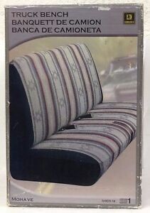 New Saddleman 34105 14 Truck Bench Seat Cover Mohave Grey Mid Size Small Tk