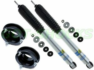2 Front Leveling Lift Kit With Bilstein 5100 Shocks For 94 13 Ram 2500 3500 4wd