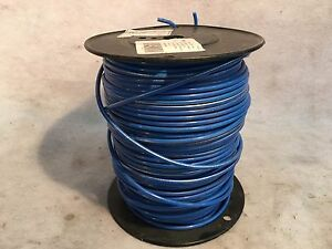 Blue Strand Copper Insulated Machine Tool Wire Approx 375ft