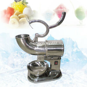 Usa Ice Shaver Machine Sno Snow Cone Maker Shaved Icee Electric Crusher Us Plug