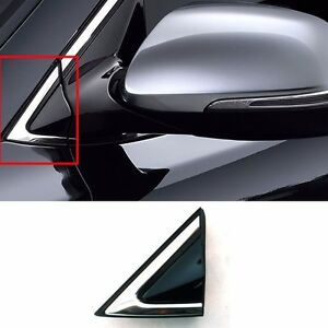 Fender Corner Chrome Molding 2013 2018 Santa Fe Garnish Left Driver Mirror Trim