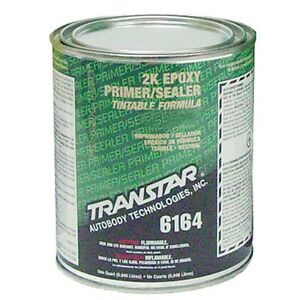 Transtar 2k Epoxy Primer sealer Dtm black Quart 6164