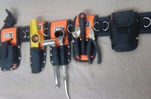Tools Belt Scaffold Nylon Padded 8in1 Tripple Double Spanner Safety Lanyard