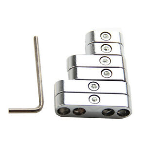7mm 8mm Chrome Spark Plug Wire Separators Dividers Looms For Chevy Ford