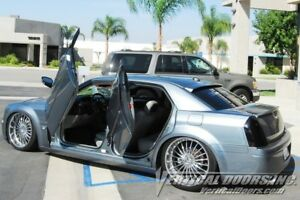 Vertical Doors Rear Vertical Lambo Door Kit For Chrysler 300 2004 10