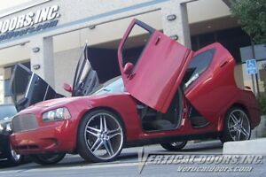 Vertical Doors Rear Vertical Lambo Door Kit For Dodge Charger 2005 10
