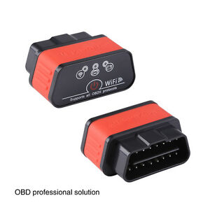 Kw903 Elm327 Wifi Wireless Obd2 Ii Car Diagnostic Auto Scanner Code Reader Tool