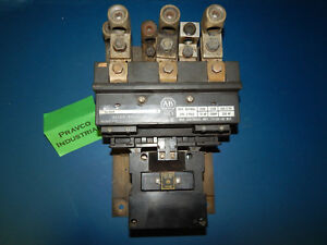 Allen Bradley 702 fob93 Starter Series K Size 5 3pole 200 575v With 75a288 Coil
