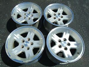 Jeep Tj Wragler 16 Wheel Rims Set Of 4 Oem