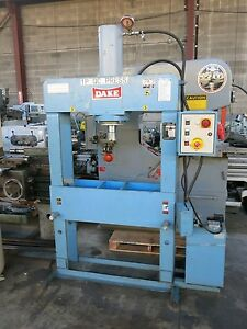 Dake 70 Ton H frame Electric Hydrauic Press