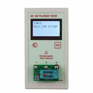 Tr Esr Lcr Tester Transistor Meter Semiconductor Inductance Multi Test Analyzer