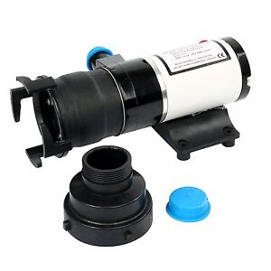 Lift Up To 9 8 Feet Macerator Waste Water Pump 12gpm Boat Rv Marine 45lpm 12v Us