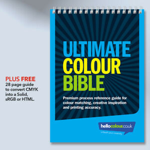 Cmyk Colour Swatch Guide Pantone Matching Book For Creative Graphic Design