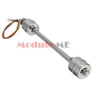 200mm Liquid Float Switch Water Level Sensor Stainless Steel Double Ball