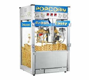 Popcorn Popper Machine 12 Oz Kettle Countertop Movie Theater Commercial Party