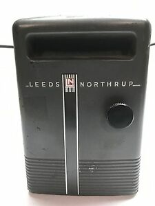 Vintage Leeds Northrup 2430 Light Beam Galvanometer Powers On