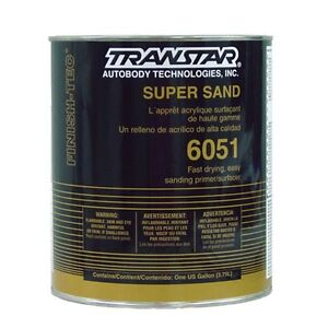 Transtar Super Sand Primer 1 Gallon Gray 6051