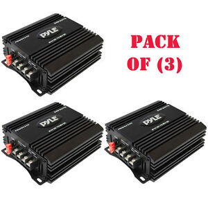 Pack Of 3 Pyle Pswnv240 24 12v Dc 240w Power Step Down Converter Pmw Technology