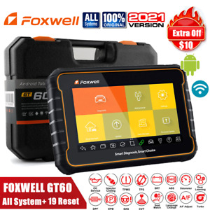 Obd2 Automotive Scanner All Systems All Functions Coding Tool Foxwell Gt60
