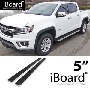Iboard Running Boards 5 Inches Fit 15 20 Chevy Colorado Gmc Canyon Crew Cab