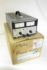 New Kikusui Pad 500 0 6a Regulated Dc Power Suply