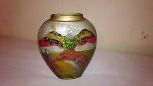 Brass Antique Hand Made From India Vase