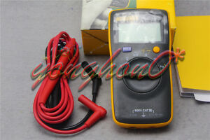 Fluke 101 Portable Handheld Digital Multimeter Tester 15b Smaller Version New