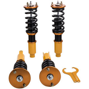 Full Set Coilovers Suspension Kit For Honda Accord 90 97 Shock Absorbers Struts