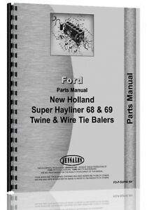 New Holland Super 68 Baler Parts Manual