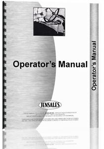 Ford Tw 20 Tractor Operators Manual