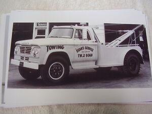 1965 Dodge Tow Truck 11 X 17 Photo Picture