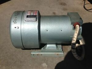 Georator Corp No Brush Motor Generator model 35 120 1 5hp 3450rpm 480v