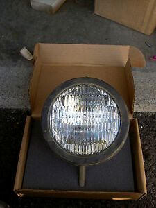 Us Military Truck Jeep Vehicle 6 Headlight Metal Spot Light 12v Usa By Guide