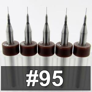 0067 95 Five Carbide Drill Bits 098 Loc Cnc Pcb Model Hobby