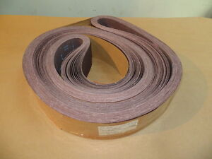 3m Resin Cloth Sanding Belts 4 X 168 80x Grit 25 Pcs New