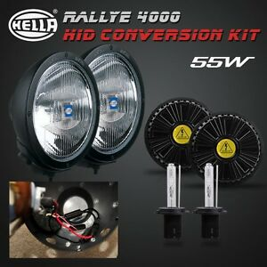 H1 Hid Xenon Conversion Kit For Hella Rallye 4000 Spot Lights internal Ballast