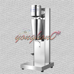 New Commercial home Electric Soft Ice Cream Mixer Milkshake Cyclone Machine 220v