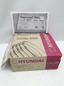 Hyundai Flux Core 045 Mig Welding Wire 44 Lb Spool Supercored 71 Mag Free Ship