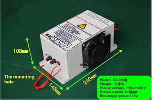 High Voltage Power Supply With 40kv 400w Output For Removing Smoke Lampblack