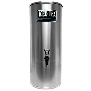 Gmcw S5 5 Gal Stainless Steel Iced Tea Dispenser