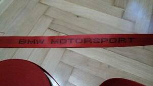 Bmw Red Motorsport Seat Belts E30 e34 e36 e46 M3 M5 Mpower All Bmw Only Webbing