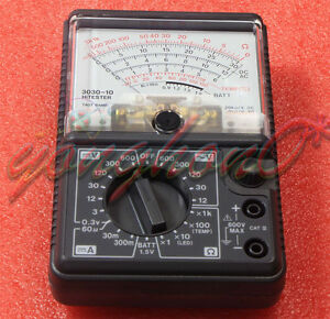 Made In Japan Hioki 3030 10 Analog Multimeter Hitester New