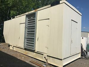 Caterpillar Generator Enclosure 2000kw 3516b 3512b 3508b
