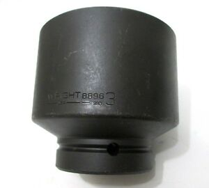 Wright Tool 8896 3 Impact Socket 1 Drive 6 point 3 In Standard Made In Usa