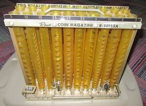 Rowe Bcc 8 Bill Changer Machine Coin Tube Magazine R 50155a Complete Guc