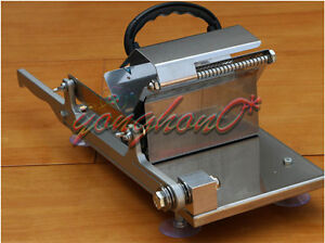1pcs New Manual Stainless Steel Frozen Meat Slicer Beef Slicing Machine Portable