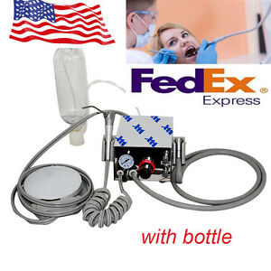 Usa Portable Dental Turbine Unit Work With Air Compressor 4hole