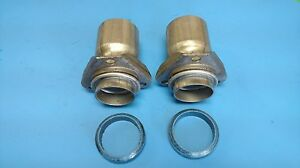 Chevrolet V8 Exhaust Manifold Down Pipe Stub 2 25 Id Outlet 3 Bolt W donut Usa