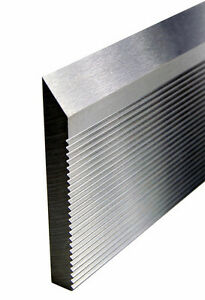 Corrugated Back High Speed Molder Knife Steel 25 X 2 X 5 16 Bars